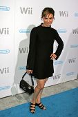 Samarie Armstrong at the party celebrating the launch of Nintendo's Game Console Wii. Boulevard 3, L