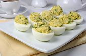 Stuffed Eggs With Herbs