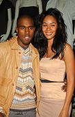 Kanye West and Alexis Rainey at Holiday Window Lighting to benefit the Kanye West Foundation Loop Dr