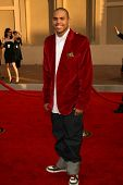 LOS ANGELES - NOVEMBER 21: Chris Brown at the 34th Annual American Music Awards at Shrine Auditorium November 21, 2006 in Los Angeles, CA
