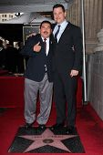 Guillermo Rodriguez, Jimmy Kimmel at Jimmy Kimmel's induction into the Hollywood Walk of Fame, Holly
