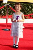 Aubrey Anderson-Emmons at the 19th Annual Screen Actors Guild Awards Arrivals, Shrine Auditorium, Lo