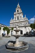 stock photo of stelles  - santa maria delle stelle church in comiso - JPG