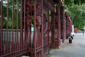 Os portões de rainhas