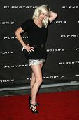 LOS ANGELES - OCTOBER 08: Anna Faris at the Playstation 3 Launch Party October 08, 2006 in 9900 Wilshire Blvd, Beverly Hills, CA.