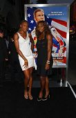 HOLLYWOOD - JULY 26: Venus Williams and Serena Williams at the Premiere Of