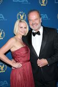 Kayte Walsh, Kelsey Grammer at the 65th Annual Directors Guild Of America Awards Arrivals, Dolby The