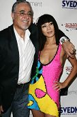 HOLLYWOOD - AUGUST 24: Von Dutch designer Gigi and Bai Ling at the Von Dutch Watches Collection Fash