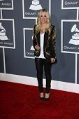 Kaley Cuoco at the 55th Annual GRAMMY Awards, Staples Center, Los Angeles, CA 02-10-13
