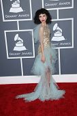 Kimbra Lee Johnson at the 55th Annual GRAMMY Awards, Staples Center, Los Angeles, CA 02-10-13
