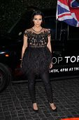 Kim Kardashian at the Topshop Topman LA Opening Party, Cecconis, West Hollywood, CA 02-13-13