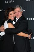 Julie Chen, Les Moonves at Delta Airline's Celebration of LA's Music Industry, Getty House, Los Ange