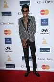 Wiz Khalifa at the 2013 Clive Davis And Recording Academy Pre-Grammy Gala, Beverly Hilton Hotel, Bev