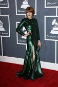 Florence Welch at the 55th Annual GRAMMY Awards, Staples Center, Los Angeles, CA 02-10-13