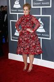 Adele at the 55th Annual GRAMMY Awards, Staples Center, Los Angeles, CA 02-10-13