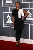Beyonce Knowles at the 55th Annual GRAMMY Awards, Staples Center, Los Angeles, CA 02-10-13