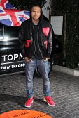 Chris Brown at the Topshop Topman LA Opening Party, Cecconis, West Hollywood, CA 02-13-13