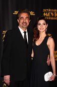 Joe Mantegna, Gia Mantegna at the 21st Annual Movieguide Awards, Universal Hilton Hotel, Universal City, CA 02-15-13