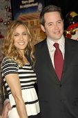 HOLLYWOOD - NOVEMBER 12: Sarah Jessica Parker and Matthew Broderick at the world premiere of