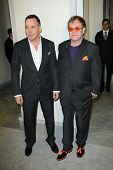Elton John and David Furnish at Tom Ford Cocktails In Support Of Project Angel Food Media. Tom Ford, Beverly Hills, CA 02-21-13