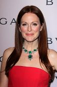Julianne Moore at the Elizabeth Taylor Bvlgari Jewelry Collection Unveiling, Bvlgari Beverly Hills,