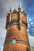 Water tower of Rostock, Germany