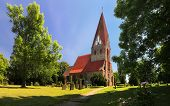 Parkentin parish church, Germany