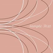 vector delicate pearl beads for backgrounds, cards