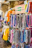 Colorful Necklace On The Market