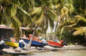 Colorful Fishing Boat Bequia St. Vincent And The Grenadines