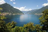 Lake Lecco, A Branch Of Como Lake, Italy