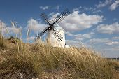 Windmill In Castilla-la Mancha, Spain