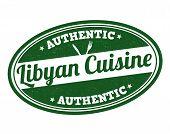 Libyan Cuisine Stamp