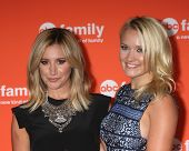 LOS ANGELES - JUL 15:  Ashley Tisdale, Emily Osment at the ABC July 2014 TCA at Beverly Hilton on July 15, 2014 in Beverly Hills, CA