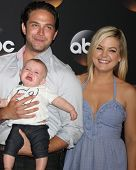 LOS ANGELES - JUL 15:  Brandon Barash, Harper Barash, Kirsten Storms at the ABC July 2014 TCA at Bev