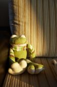 Knitted Toy Frog