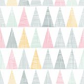 Abstract textile colorful textured triangles seamless pattern background