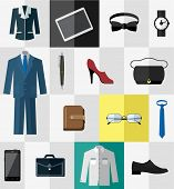 Business wear and other business accessories for men and women