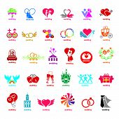 Biggest Collection Of Vector Logos Wedding