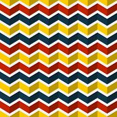 Seamless Chevron Pattern. Vector Background.