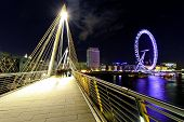 Embankment Bridge Night