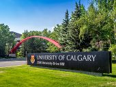 University of Calgary entrance sign