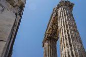 Massive Stone Columns