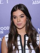 LOS ANGELES - AUG 14:  Hailee Steinfeld arrives to the HFPA Annual Installation Dinner 2014 on August 14, 2014 in Beverly Hills, CA