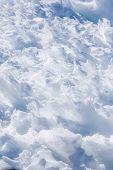 Snow close-up.