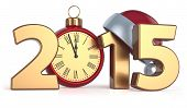 ������, ������: Happy New Year 2015 Alarm Clock Christmas Ball