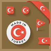Turkey Made Symbol Collection