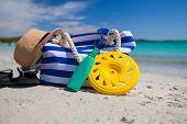 image of frisbee  - Beach bag - JPG