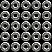 Chrome Grommets Background