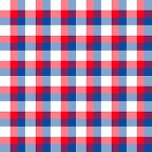 Plaid azul blanco rojo